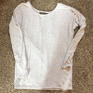 Grey athletic shirt